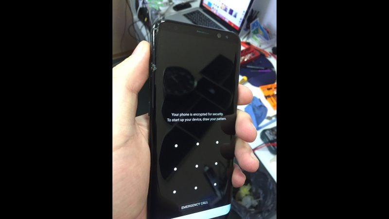 Samsung Galaxy S8 ... lcd replacement