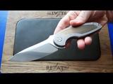 Премиум нож из Краснодарского края! Sander Knives Duck Flipper