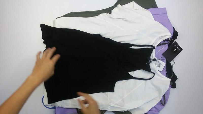 1377 Sisters Point Fransa Vila Ladies Blouses T Shirts 15 PCS 2пак брендовые датские женские блузки сток