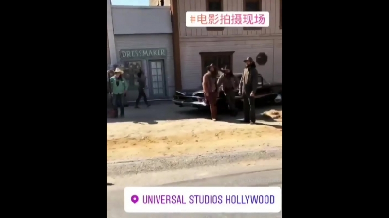 Once upon a time in Hollywood. Universal Studios