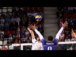 Monster Block 1 on 1 2018 Volleyball Nations League