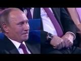 Реакция Путина на пародию на Кадырова в исполнении Галустяна