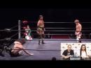 Toru Owashi, Hikaru Shida vs. Kazuhiro Tamura, Tetsuya Ido Chinko Pro-Wrestling - 05.03.2018