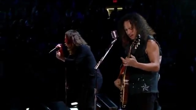 MetallicA Ozzy - Iron Man Paranoid (RnR Hall of Fame 09)
