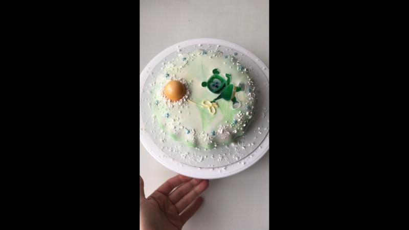 Тортик на годовасие малыша 🎂👼🏼