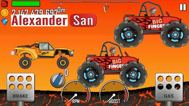 ГОНКИ НА МАШИНКАХ Мультик Про Машинки ИГРА для детей Hill Climb Racing 2 Gameplay iOSAndroid