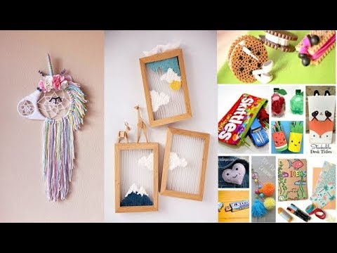 DIY Room Decor 14 DIY Room Decorating Ideas for Teenagers DIY Wall Decor Pillows etc
