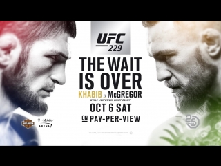 Khabib Nurmagomedov vs Conor McGregor Announcement _UFC 229 Promo
