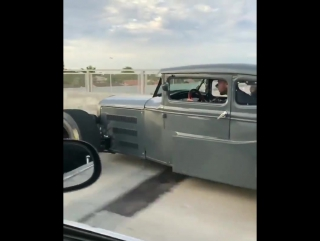 F20C swapped 1930 Model A ! 6 speed with a short shifter !