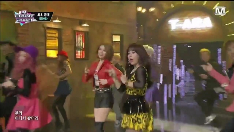 131205 T-ARA Comeback Stage - 1977 Do you know me What Do I Do @ Mnet M!Countdown