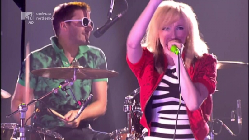 The Ting Tings Not My Name EMAs 2008 Liverpool