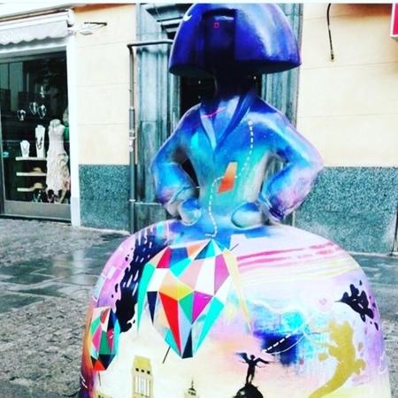 Instagram post by Oksana. Arte.Creatividad • May 28, 2018 at 6:58pm UTC