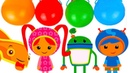 Learn colors with Team Umizoomi and magformers from Babies