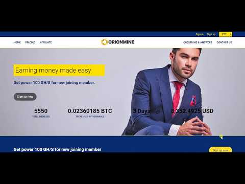 Sign up get 100 GH/s and earn Bitcoin Daily 9% Limited offer No investment