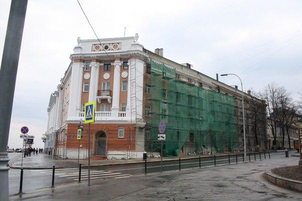 Реставрация корпуса  30 апреля 2018