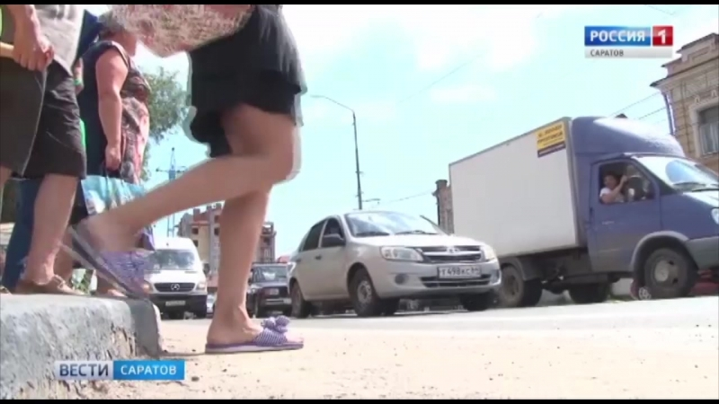 Камеры, штрафующие за пересечение стоп-линии, заработали в Саратове