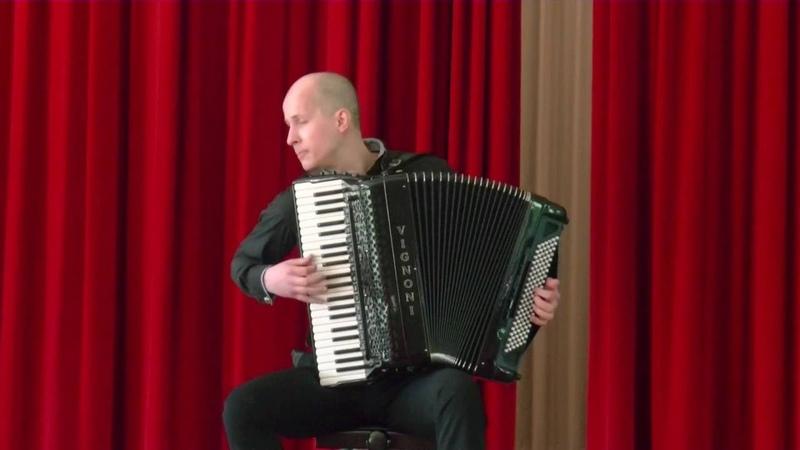 Ole Shmidt - Toccata №2 Arseniy Strokovskiy - accordion