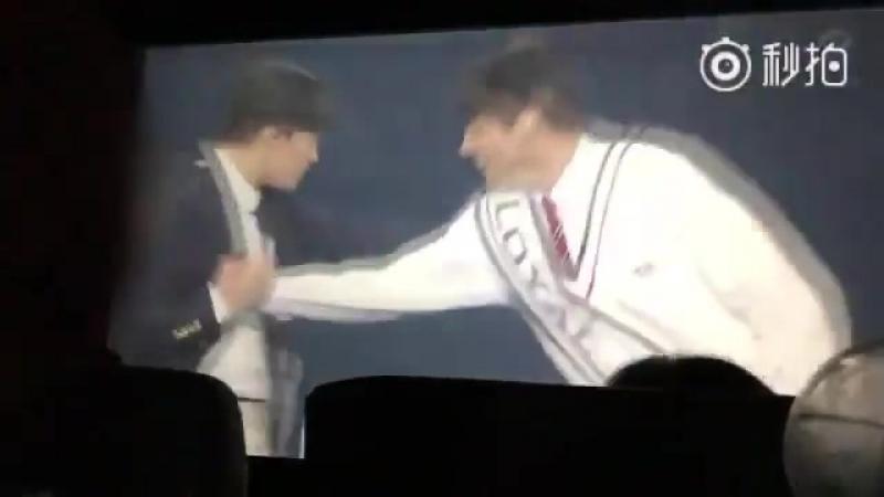 Yoongi vs jungkook, the way taehyung massaged yoongi heh they kept asking yoongi if hes okay