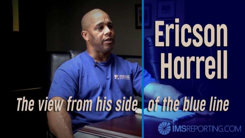 Ericson Harrell - The View from His Side of the Blue Line