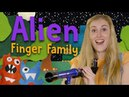 Finger Family Song Aliens Nursery Rhymes and Songs for Kids Fiona Felt