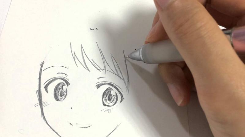 初描き ニセコイの小野寺さんを描いてみた! ※等倍速 kekkaishilove