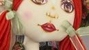 Vida com Arte Pintura em rostinho de boneca russa por Vânia Lima 02 de dezembro de 2016