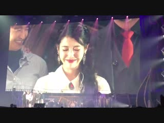 [Fancam] 181117 @ IU - 'dlwlrma' Concert in Seoul D-1 with g.o.d (cr: _ssosso_1u)
