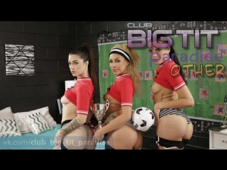Carmen Caliente, Eve Ellwood And Lacey Channing