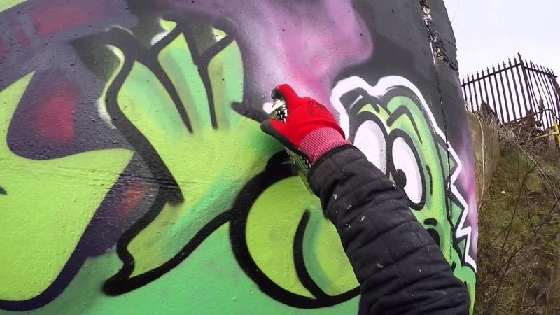 Graffiti - Apps EA - Raw Footage Can Control 2