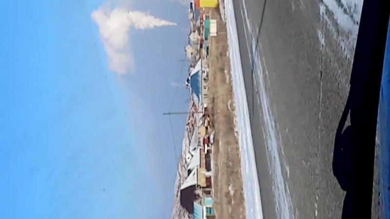 14.01.2018 год. Усть каменогорск. Шашлык жарит