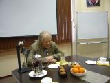 Встреча с Жоресом Алферовым в его кабинете в Алферовском научном центре