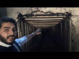 1.04.18 - Вход в сеть тоннелей в Айн Терма