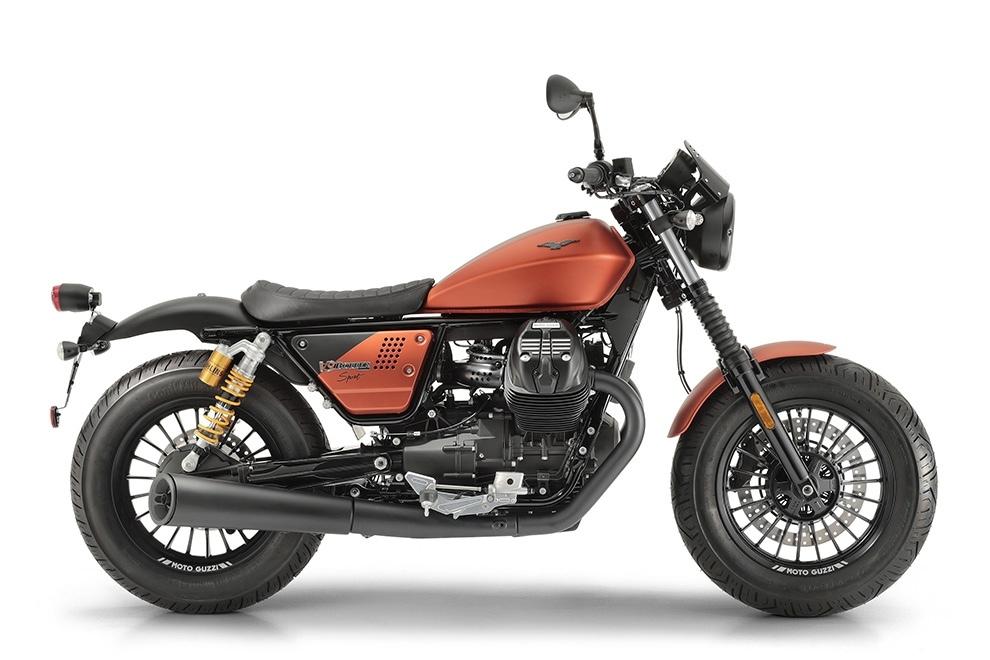 Новый мотоцикл Moto Guzzi V9 Bobber Sport 2019