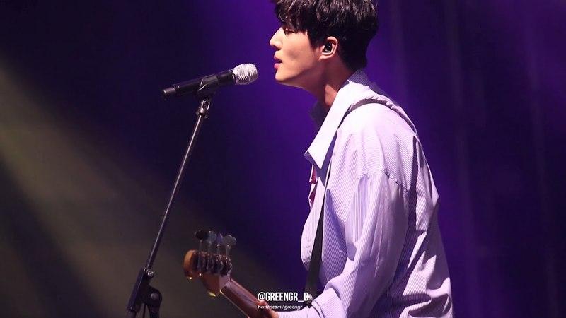 180520 SJF 서울재즈페스티벌 DAY6-예뻤어 리허설 (영현 focus) YoungK