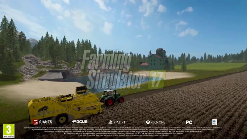 Инструкция машин из дополнения ROPA для игры Farming Simulator 17 смотреть онлайн без регистрации