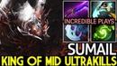 SumaiL Shadow Fiend King of Mid Ultra Kills 7 18 Dota 2