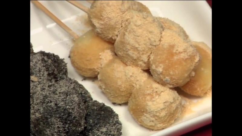Tofu Dango Recipe (Japanese Sweet Dumpling Dessert) [Remastered] - Cooking with Dog