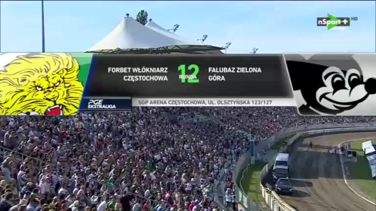 PGE Ekstraliga 2018 Round 12 forBET Włókniarz Częstochowa - Falubaz Zielona Góra (12.07.2018)