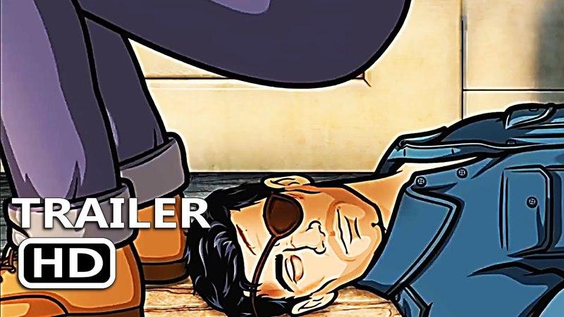 ARCHER: DANGER ISLAND SEASON 9 Official Trailer (2018)