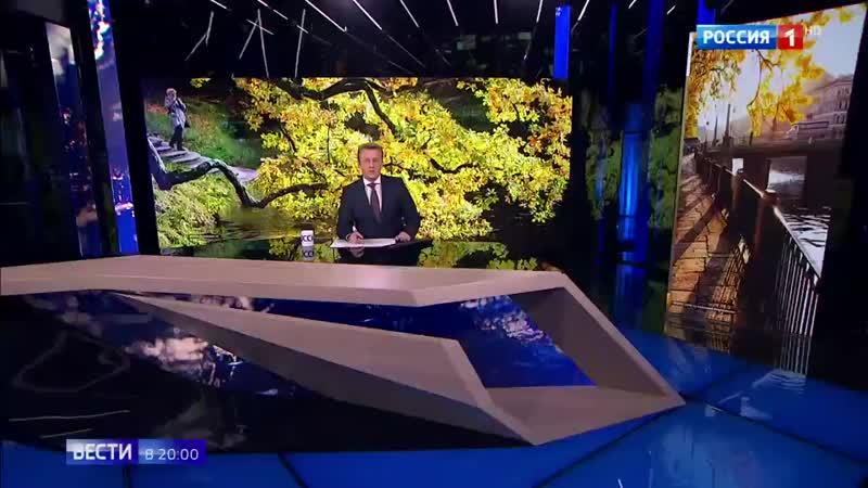 Бабочки и цветущие рододендроны_ лето не хочет уходить из Москвы - Россия 24