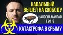 Навальный на свободе Катастрофа в Крыму Налог на мангалы