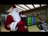 Дед Мороз в гостях у Леруа Мерлин