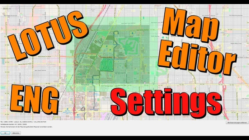 [ENG] Important Settings - LOTUS Map Editor 6