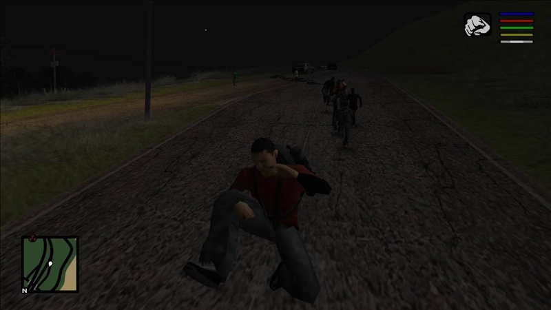 Zombie Andreas 4.0 New Zombies System And Dynamic Horde Music System