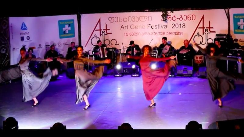Сухишвили на Art-Gene - танец Учхрести 13.07.2018