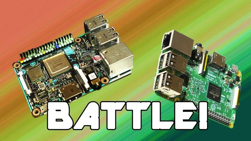 Asus Tinker Board vs. Raspberry Pi 3 Benchmarks