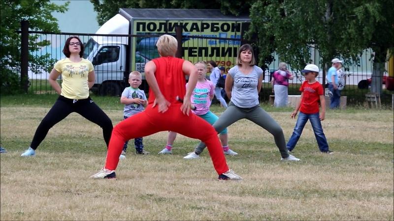День города Балабаново - 2018 (мастер-класс по йоге)