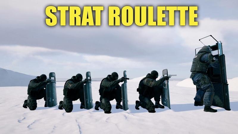 STRAT ROULETTE 6! - Rainbow Six Siege