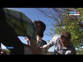 Присоединились к «Генеральной уборке»: активисты Народного фронта расчистили берег Великой