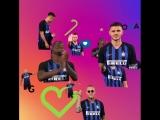 «Интер» сделал гифки с игроками в честь 2 млн фолловеров